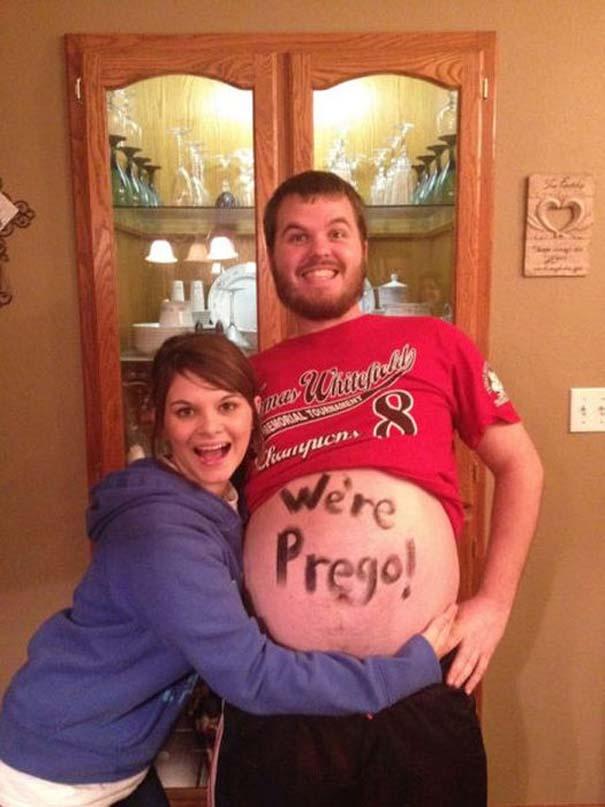 Παράξενοι και αστείοι τρόποι για να ανακοινώσεις μια εγκυμοσύνη (5)