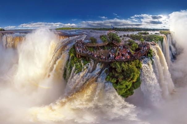 Στα σύνορα Αργεντινής και Βραζιλίας υπάρχει κάτι μαγικό | Φωτογραφία της ημέρας