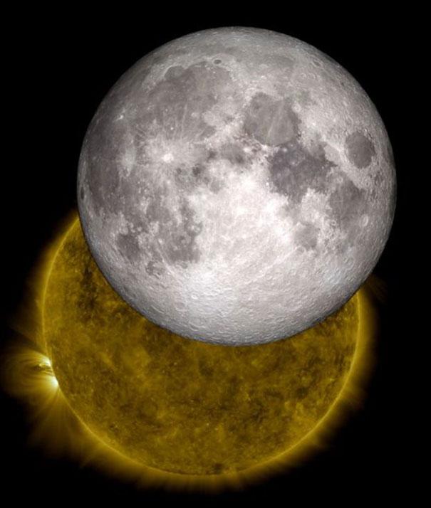 Όταν η Σελήνη μπαίνει στη μέση | Φωτογραφία της ημέρας