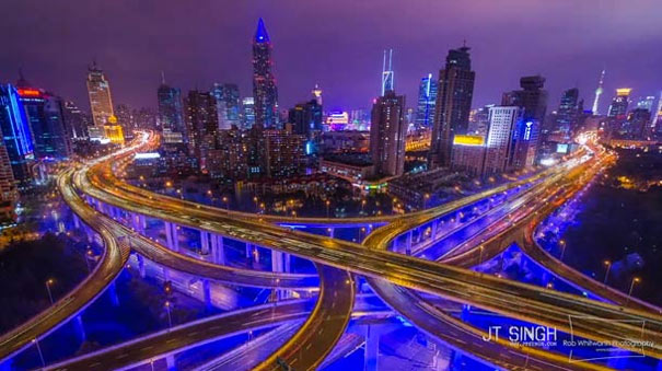 Shanghai Hyperlapse