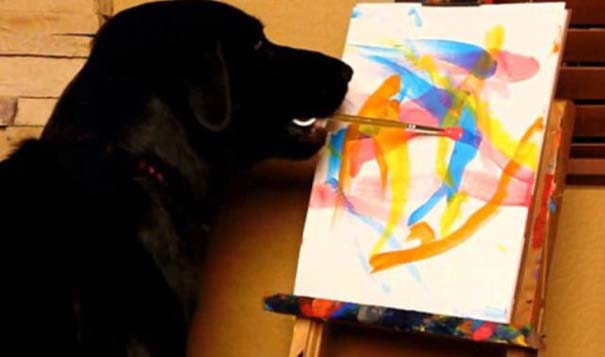 Ο σκύλος - ζωγράφος (3)