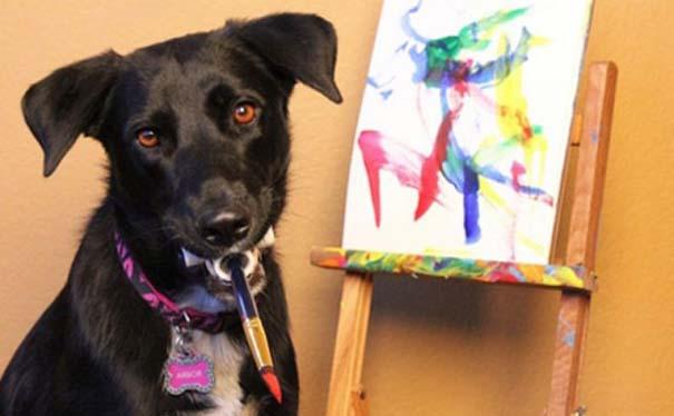 Ο σκύλος - ζωγράφος (4)