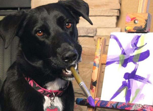 Ο σκύλος - ζωγράφος (5)
