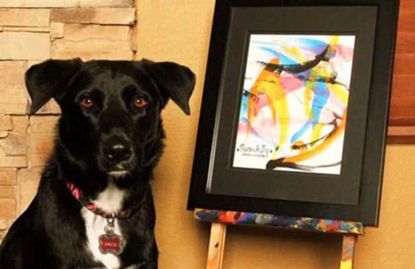 Ο σκύλος - ζωγράφος (6)