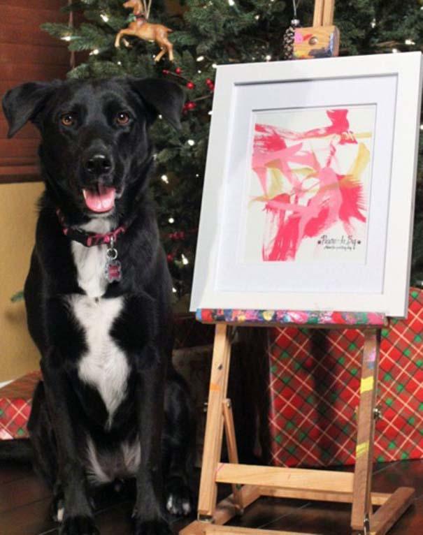 Ο σκύλος - ζωγράφος (7)