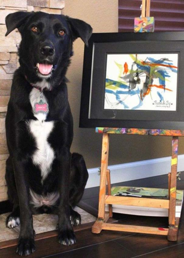 Ο σκύλος - ζωγράφος (8)