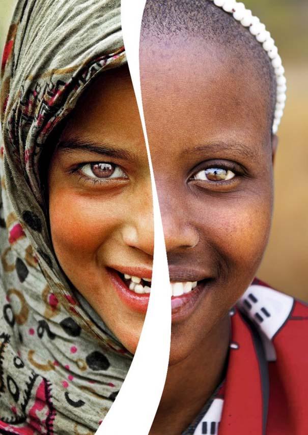 Συνδυάζοντας πορτραίτα απ' όλο τον κόσμο (2)