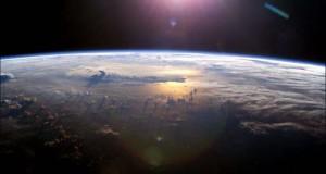 Σύννεφα όπως φαίνονται από το διάστημα
