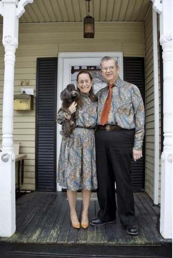 Ζευγάρι ντύνεται με ταιριαστά ρούχα εδώ και 35 χρόνια (11)