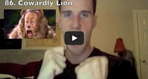 Ένας τύπος κάνει 105 εκπληκτικές μιμήσεις διασήμων και χαρακτήρων καρτούν (Video)