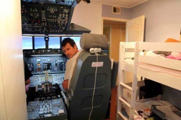 40χρονος πέρασε την λατρεία του για τις πτήσεις σε... άλλο επίπεδο (2)
