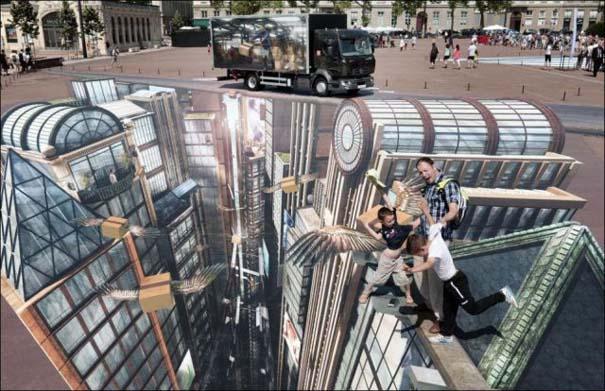 Ένα απίστευτο 3D έργο τέχνης που θα μπει στο ρεκόρ Guinness (3)