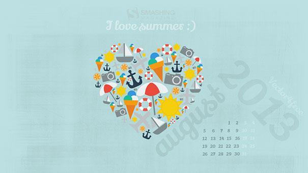 Wallpapers ημερολόγια Αυγούστου 2013 (1)