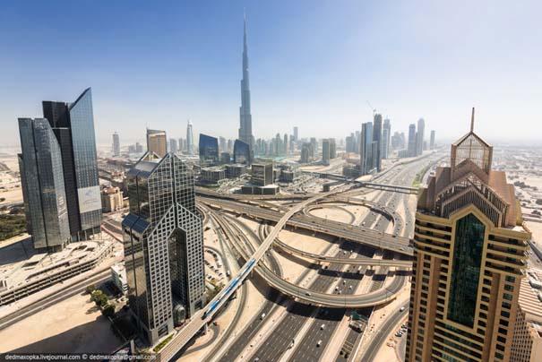 Εξερευνώντας το Dubai από την κορυφή των κτιρίων (1)
