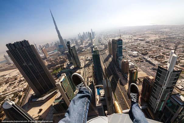 Εξερευνώντας το Dubai από την κορυφή των κτιρίων (8)
