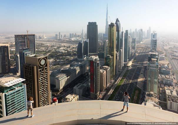 Εξερευνώντας το Dubai από την κορυφή των κτιρίων (9)