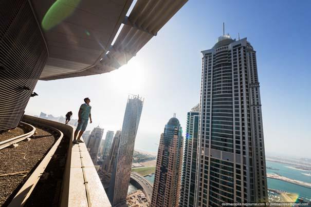 Εξερευνώντας το Dubai από την κορυφή των κτιρίων (11)