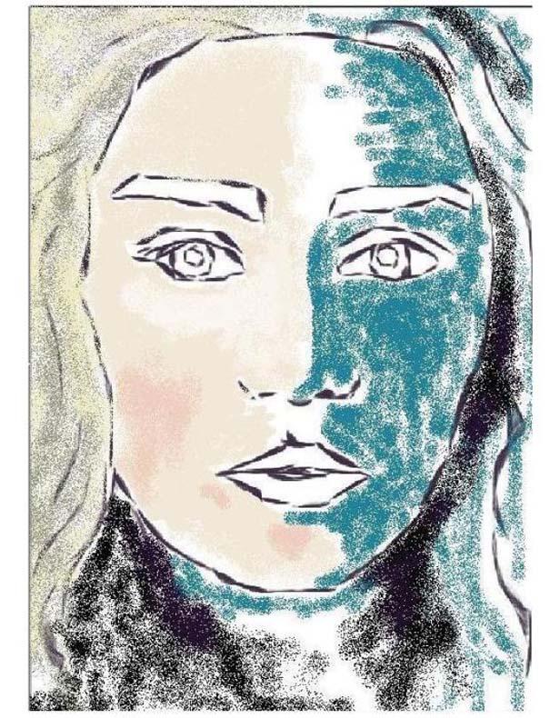 Εντυπωσιακό πορτραίτο στο MS Paint (2)