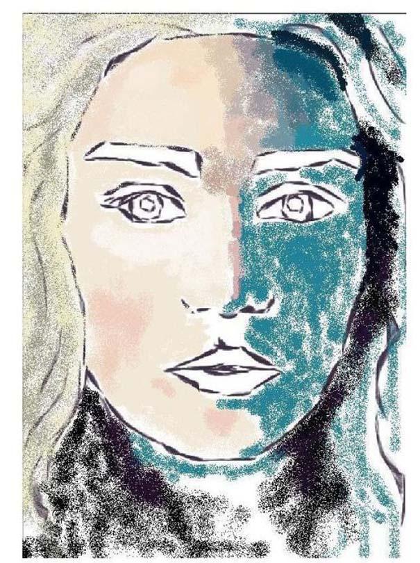 Εντυπωσιακό πορτραίτο στο MS Paint (3)