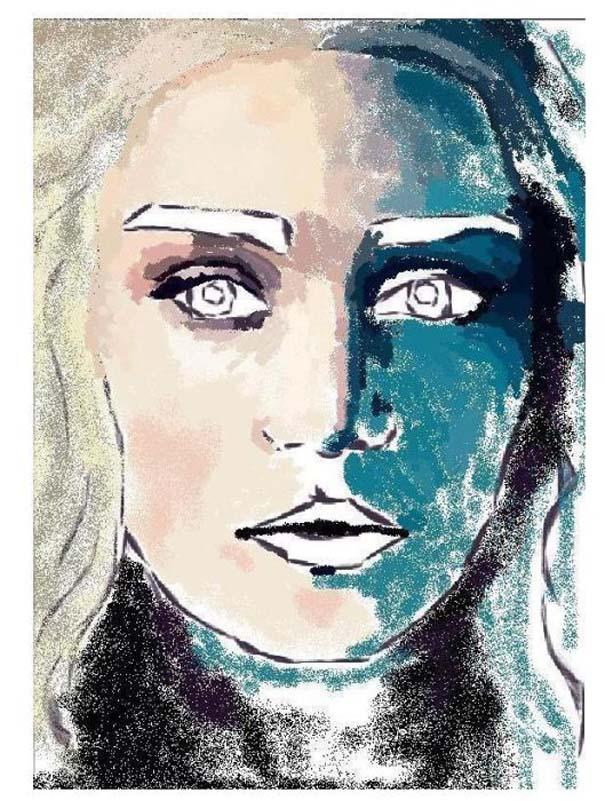 Εντυπωσιακό πορτραίτο στο MS Paint (4)