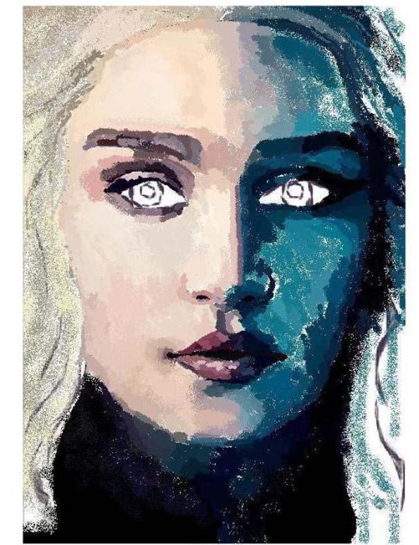 Εντυπωσιακό πορτραίτο στο MS Paint (5)