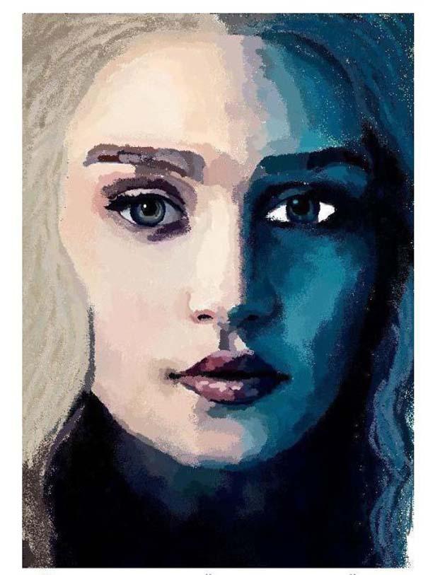 Εντυπωσιακό πορτραίτο στο MS Paint (7)