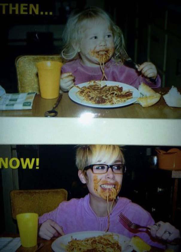 Φωτογραφίες «τότε και τώρα» που αποτελούν μια ιστορία από μόνες τους (14)