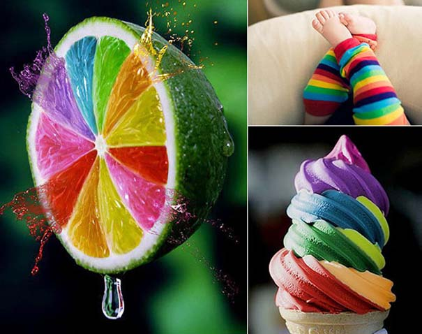 Υπέροχες φωτογραφίες στα χρώματα του ουράνιο τόξου (1)