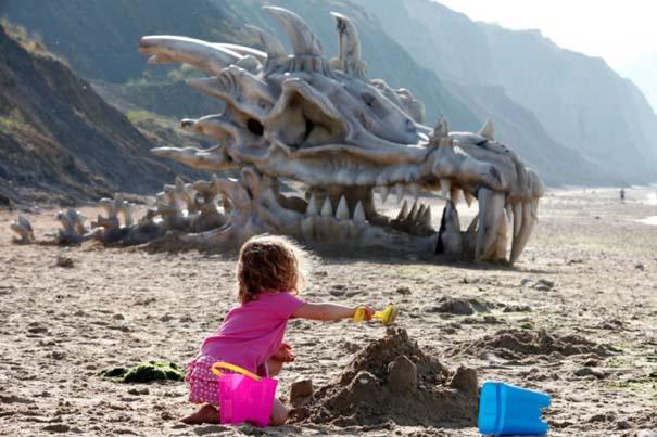 Γιγάντιο κρανίο δράκου σε παραλία της Αγγλίας (3)