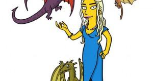 Οι ήρωες του Game of Thrones με τη μορφή των Simpsons