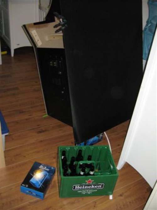 Έφτιαξε κλασσικό Arcade χρησιμοποιώντας μια παλιά τηλεόραση (14)