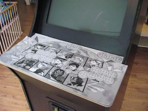 Έφτιαξε κλασσικό Arcade χρησιμοποιώντας μια παλιά τηλεόραση (21)