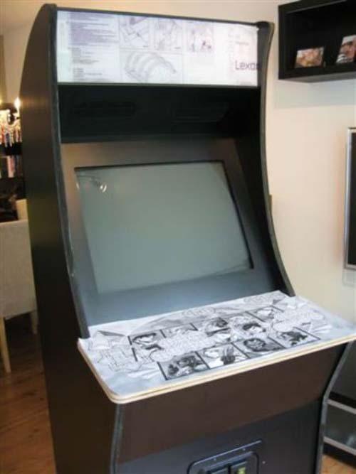 Έφτιαξε κλασσικό Arcade χρησιμοποιώντας μια παλιά τηλεόραση (22)