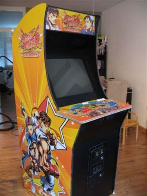 Έφτιαξε κλασσικό Arcade χρησιμοποιώντας μια παλιά τηλεόραση (34)