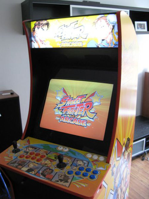 Έφτιαξε κλασσικό Arcade χρησιμοποιώντας μια παλιά τηλεόραση (45)