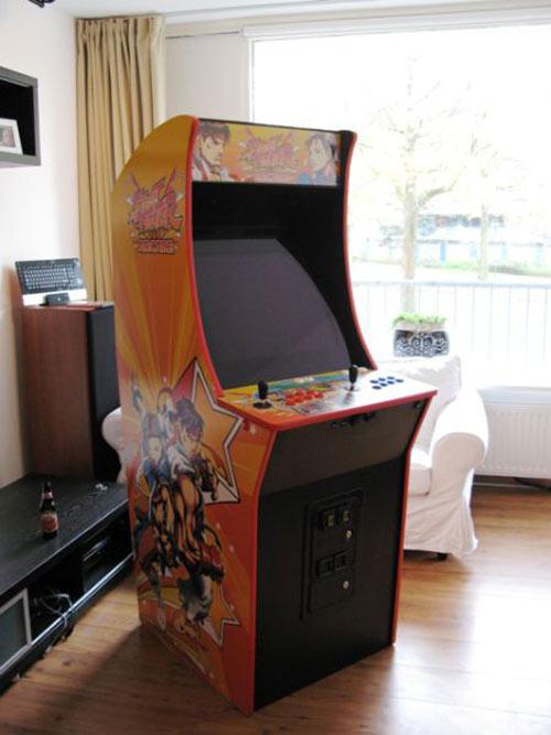 Έφτιαξε κλασσικό Arcade χρησιμοποιώντας μια παλιά τηλεόραση (44)