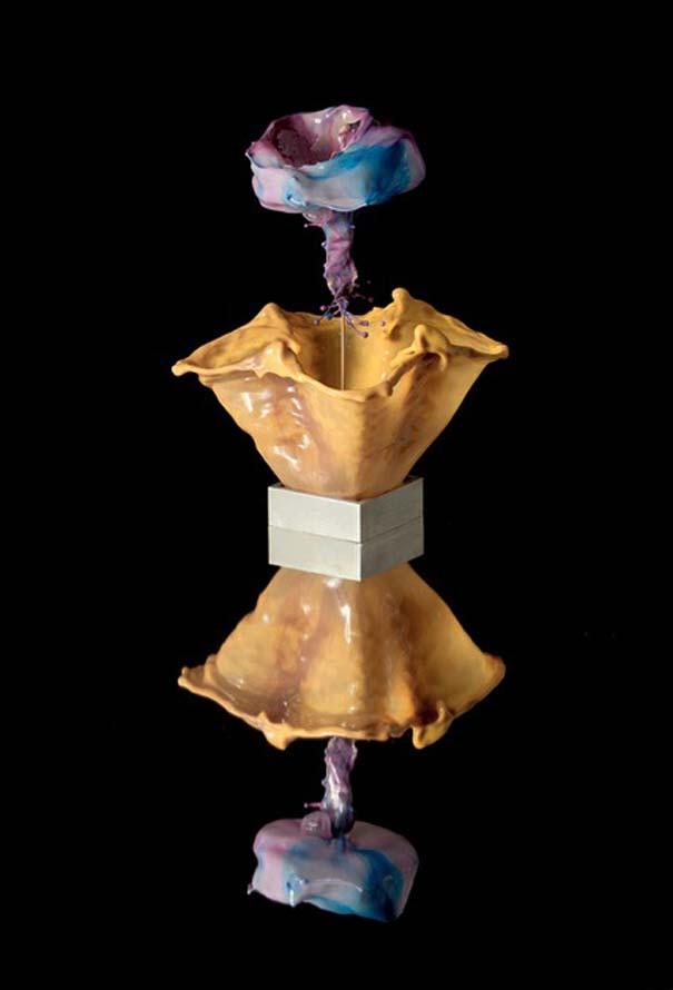 Καλλιτέχνης δημιουργεί λουλούδια από παφλασμούς χρωματισμένου νερού (12)