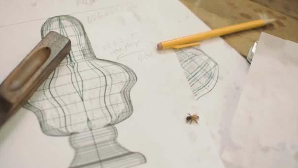 Μέλισσες σε ρόλο 3D εκτυπωτή (2)