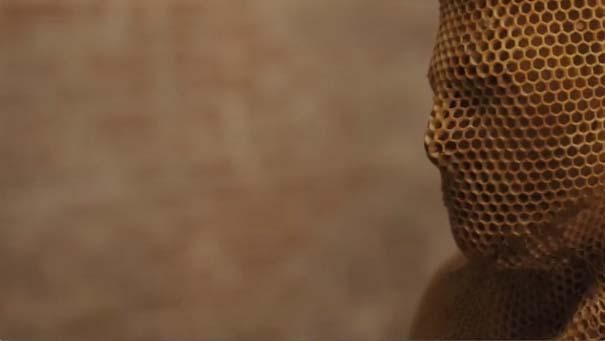 Μέλισσες σε ρόλο 3D εκτυπωτή (18)