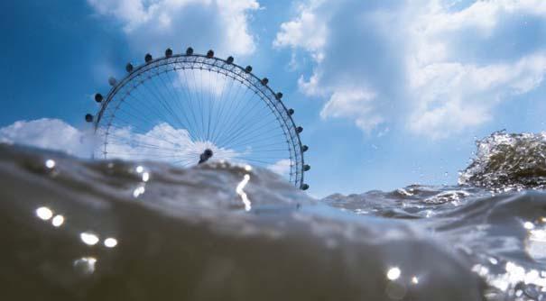 Φωτογραφίες από συγκεκριμένη γωνία λήψης δείχνουν το Λονδίνο μισοβυθισμένο (3)
