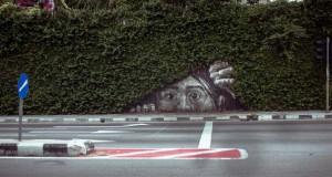 Όταν η τέχνη του δρόμου συνδυάζεται με την φύση