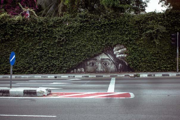 Όταν η τέχνη του δρόμου συνδυάζεται με την φύση (1)