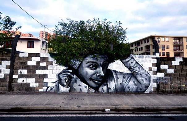 Όταν η τέχνη του δρόμου συνδυάζεται με την φύση (3)