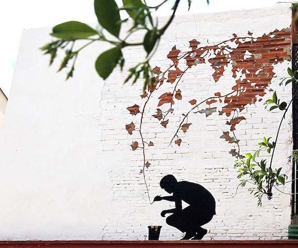 Όταν η τέχνη του δρόμου συνδυάζεται με την φύση (4)