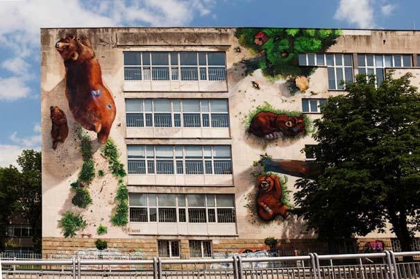 Όταν η τέχνη του δρόμου συνδυάζεται με την φύση (8)