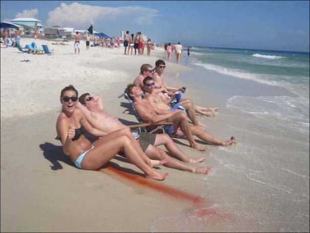 Παράξενα και τραγελαφικά σκηνικά στην παραλία (1)