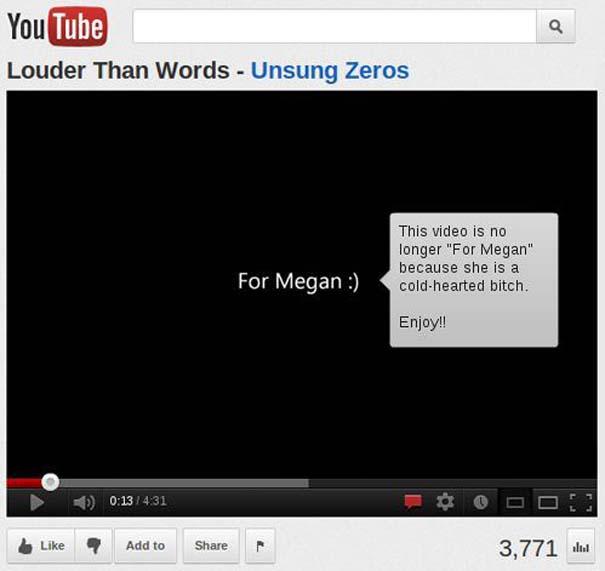 Παράξενα & ξεκαρδιστικά σχόλια στο YouTube (4)