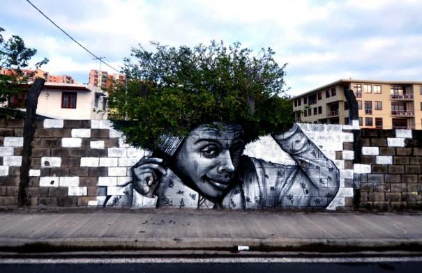 Όταν το graffiti συναντά τη φύση   Φωτογραφία της ημέρας