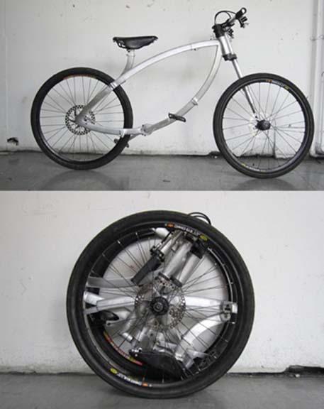 Το ποδήλατο που διπλώνει | Φωτογραφία της ημέρας