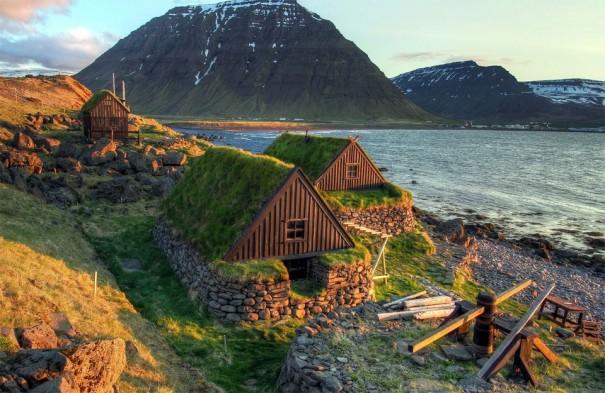 Μοναδικά «πράσινα» σπίτια στην Ισλανδία   Φωτογραφία της ημέρας
